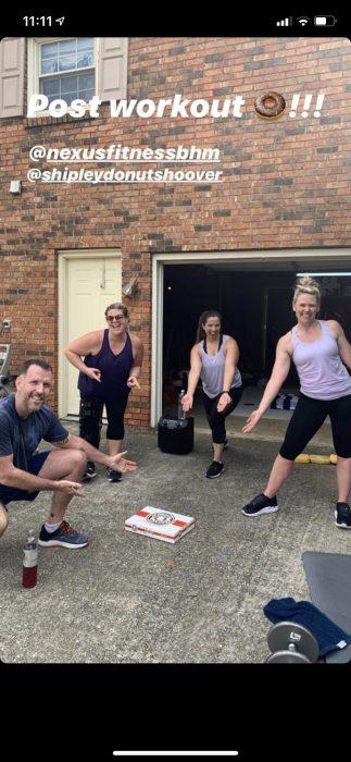 Jill Thomas At-Home Workout Blog